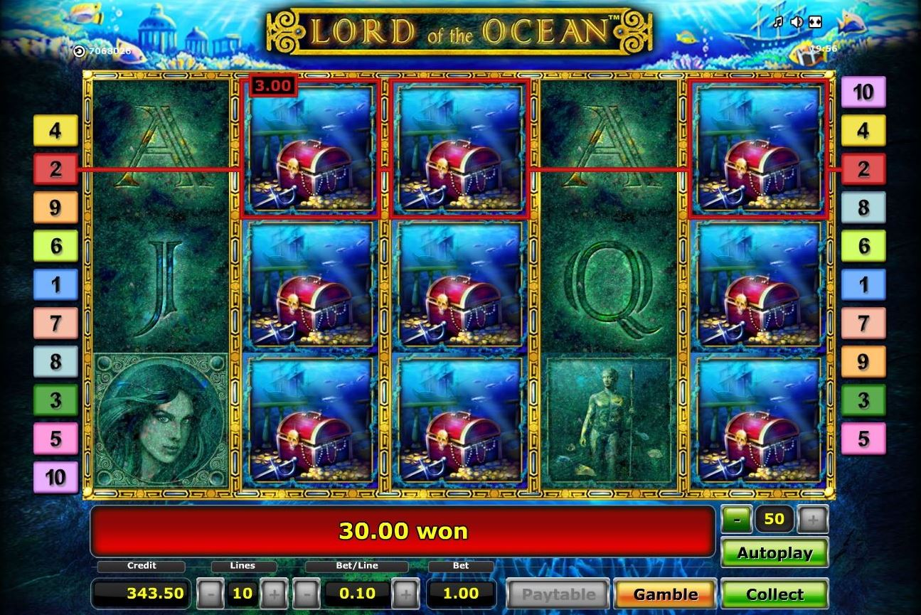 online casino lord of ocean tricks