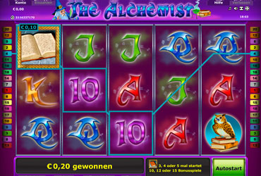 The Alchemist Liniengewinn